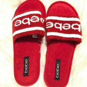BeBe Clarah slip oooh soft slippers sz Small 5/6